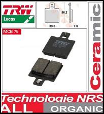 Jeu 2 Plaquette frein Métal fritté  TRW MCB75 MCB 75