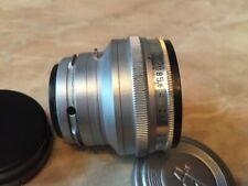 Lens Russian  Jupiter - 3 1.5/50 M39 for Contax.Kiev No.6309239