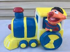 Vintage Applause SESAME STREET Ernie Train Engine Childs Ceramic Bank 1980's