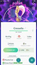 Pokemon Go Account with Cresselia with Grass Knot