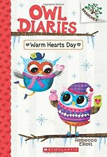 Warm Hearts Day A Branches Book (Owl Diaries 5), New, Free Shipping