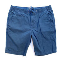 Superdry Mens Navy Casual Shorts Size Large