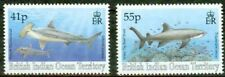 BR. INDIAN OCEAN TERR.  – 1994   – SHARKS – VF**