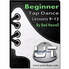 Beginner Tap Dance Lessons 9-12 on DVD by Rod Howell (4 Hours 50 minutes)