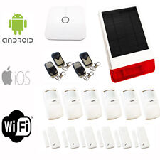 Sentry Smart Wifi Alarm - App controlled IP House Protection - Solar Burglar