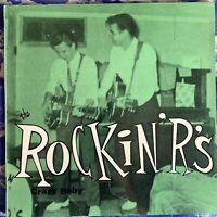 The Rockin' R's – Crazy Baby : 1988 Vinyl LP ED-205 Near Mint Condition