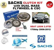 FOR SEAT LEON 2.0 TDi 170 BHP SACHS CLUTCH KIT 2006-2012 with FLYWHEEL BOLTS CSC