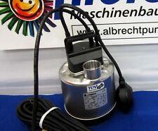 Lowara DOC 3/A TÜV mit Schwimmer - Schmutzwasserpumpe / Tauchpumpe