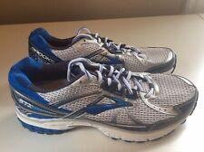 NEW Brooks Adrenaline GTS 13 Men's Running Shoes - Gray/Blue - Sz 9 Wide 2E