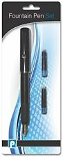Pennine Fountain Pen with Refill, Kids School Office Pen With Refill, Blue Ink