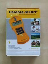 Unbenutzer Gamma-Scout Geigerzähler komplett mit USB Kable und CD