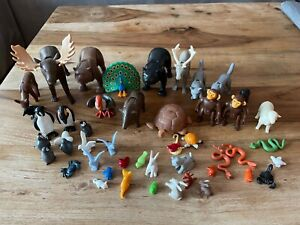 Playmobil Konvolut Tiere Pfau, Affen, Pinguine, Schildkröten u.s.w.