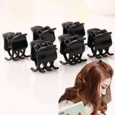 Newest 10 Pcs Black Plastic Mini Hairpin 6 Claws Hair Clip Clamps for women girl