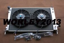 Aluminum radiator & fans for SAAB 9-5 95 2.3 TURBO 1999-2009