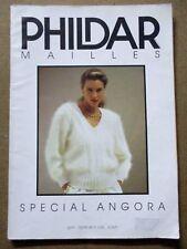 Magazine tricot Phildar mailles Spécial angora /ZA46
