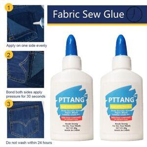 PVC Clothing Repair Glue Safe Stitch Liquid Sewing Liquid Clothing Sew Glue,