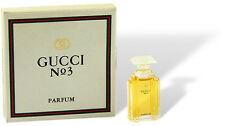"""Gucci - """"Gucci No 3"""" Parfum Miniatur Flakon reines Parfum mit Box"""