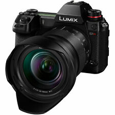 Panasonic LUMIX S1R 47.3MP Mirrorless Camera - Black (Kit with 24-105mm F4...