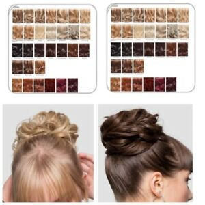 Stranded Large Hair Scrunchie Flicky Wavy Curly Hairpiece Wrap Messy Updo Bun
