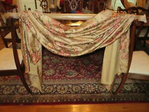Ralph Lauren Guinevere Custom made Swag Valances 2 Available