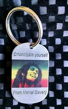 BK Tags 'Rasta Bob Nester Marley'  keychain or necklace