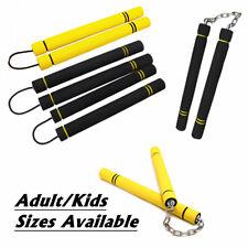 Nunchucks Foam Nunchaku Sponge Stick Martial Arts Freshman Training Safety