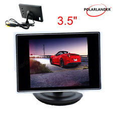 "Car Monitor for Backup Rear View Camera 3.5"" LCD TFT Color Screen DVD VCD 6V-35V"