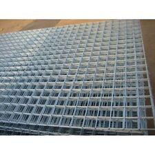 "5 Steel Grid Sheets 50mm Galvanised 2"" Holes Fencing Garden Animal Enclosures"