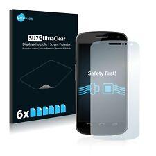 6x Savvies Screen Protector for Samsung Galaxy Nexus I9250 Ultra Clear