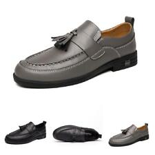 Mens Dress Formal Business Faux Leather Shoes Tassels Pointy Toe Oxfords Party L