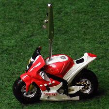 Moto sportive porte photo rouge bapteme mariage communion anniversaire dragees