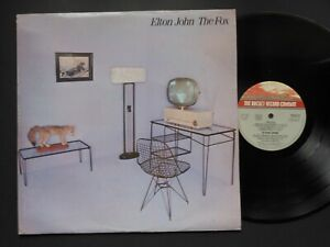 "ELTON JOHN The Fox 12"" Vinyl LP 1981 The Rocket Record Company TRAIN 16"