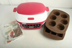Tefal Cake Factory + Metal Tray + Rack + 2 Silicone Moulds + Instructions