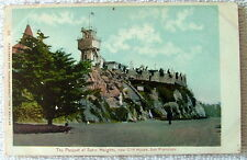 POSTCARD THE PARAPET OF SUTRO HEIGHTS NEAR THE CLIFF HOUSE SAN FRANCISCO CA #s71