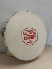 Southern Comfort Tambourine Percussion Instrument Bar Decor Wall Hanging 29A