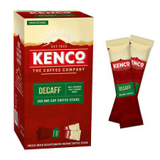 Kenco Decaffeinated Instant Coffee Sticks (1 case = 4 boxes of 200 1.8g sticks)
