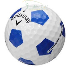 1 Callaway Chrome Soft Blue Truvis AAA Used Golf Ball (3A) - Limited Edition