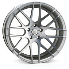 "18"" CADES ARTEMIS ALLOY WHEELS FITS BMW 5 SERIES 6 SERIES 7 SERIES SILVER"