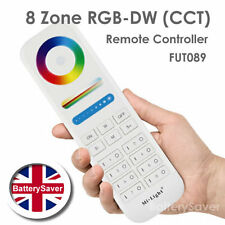 MiLight 8-Zone RGB-DW (CCT) Hand Held Remote Controller - FUT089