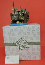 Fitz And Floyd Charming Tails Hook Line And Sinker Fishing Figurine 89/136-Box