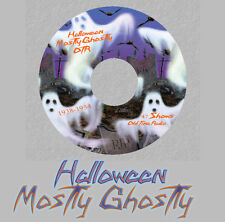 MOSTLY GHOSTLY 47 Old Time Radio Shows RARE Vintage OTR 1 CD SPOOKY Horror