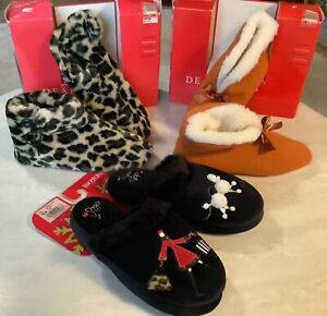 Woman's New Slippers / Size 6-1/2 to 7-1/2 U-Pick One Pair/ Dear Foam- Isotoner