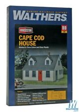 Walthers 933-3776 Cape Cod House Kit HO Scale Train