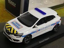 1/43 Norev Renault Megane 2016 Police Municipale gelb blau gestreift 517724