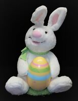 Hallmark Rockin' Rabbit White Easter Bunny Egg Chick Musical ANIMATED 11'' PLUSH