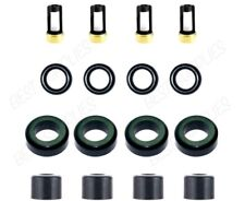 Fuel Injector Service Repair Kit O-Rings Filters Caps Seals For Toyota