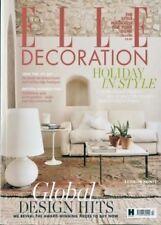 July Elle Decoration Home Magazines