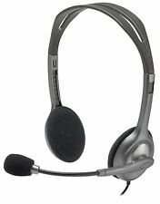 Logitech Stereo Headset H111 for Android, IOS, Smartphones & Windows/Mac PC