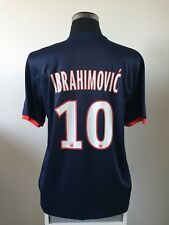IBRAHIMOVIC #10 Paris Saint Germain PSG Home Football Shirt 2013/14 (XL)