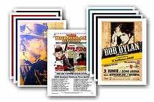 BOB DYLAN - 10 promotionnel affiches - de collection lot carte postale # 2